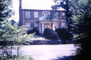 Hoss, Henry house, Old Boones Creek Road, Jonesborough