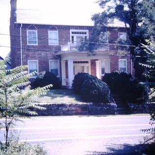 Hoss, Henry house, Old Boones Creek Road, Jonesborough