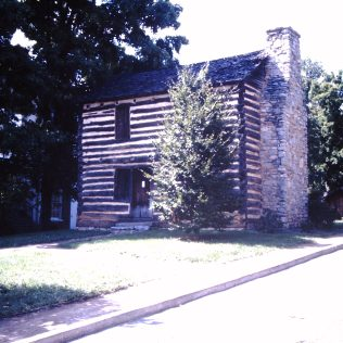 Taylor, Christopher cabin, West Main Street, Jonesborough