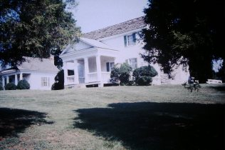 Tipton-Haynes State Historic Site - front view of house