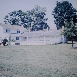 Tipton-Haynes State Historic Site - side view of house
