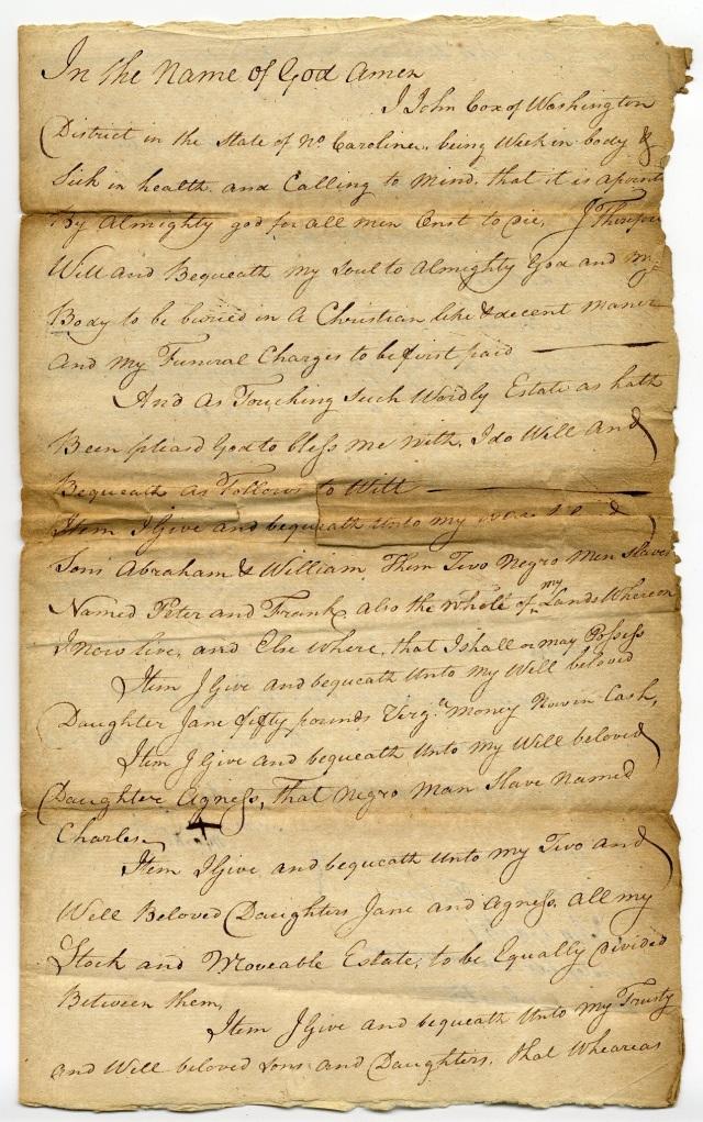 Cox, John 1777 (1) website