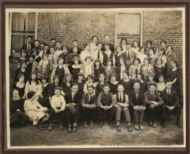 Jonesboro High School Class (undated, but early 1920's