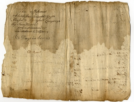 Tax List - 1780 - Capt Stinson and Davison Co (B) Resized