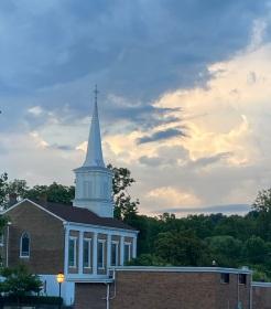 The Baptist Church at sunrise