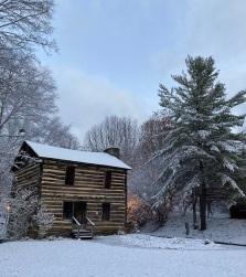The Christopher Taylor house, downtown Jonesborough, Dec. 1, 2020