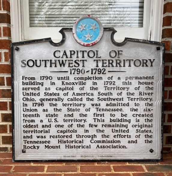 Capital of the Southwest Territory 1