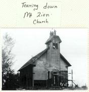 Mt. Zion Church, undated